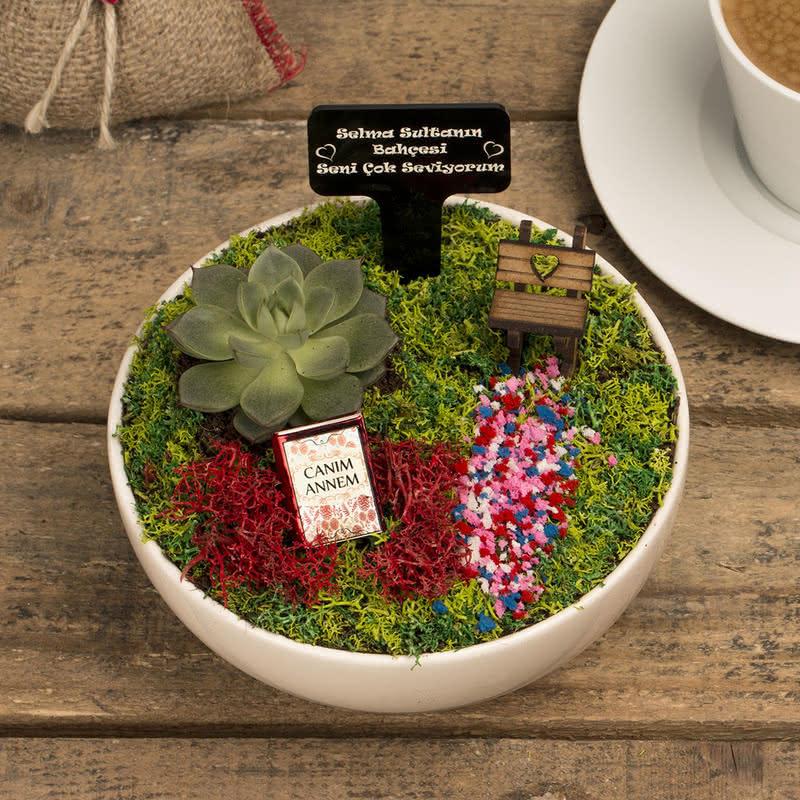 Evimizin Sultanına Hediye Minyatür Bahçe