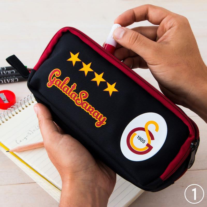 Galatasaray Taraftarına Özel Lisanslı Kalem Kutusu