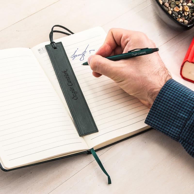 İsim Yazılı Defter Kalem Ayraç Ofis Seti