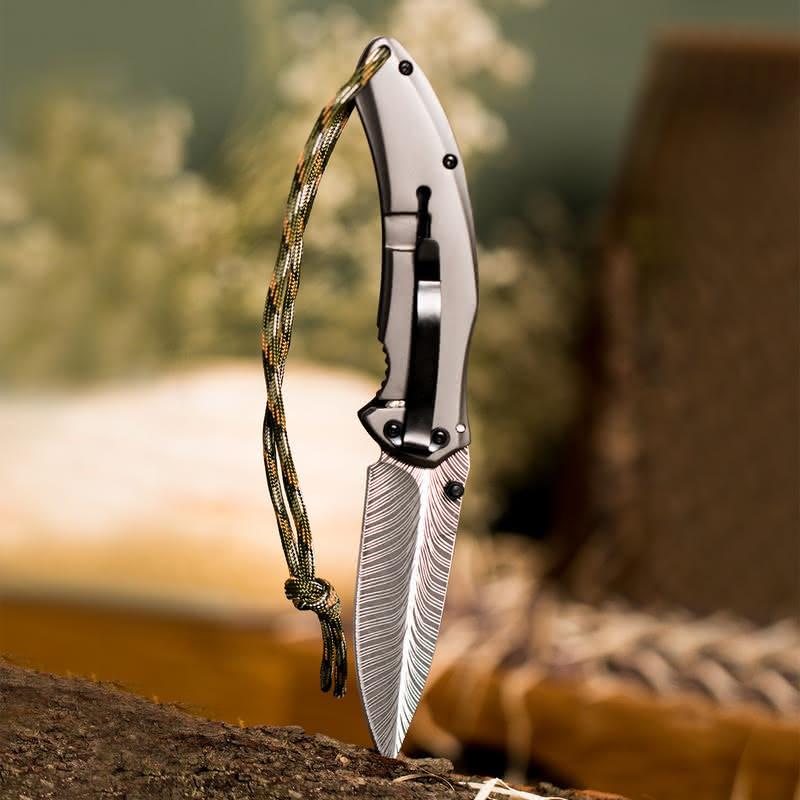 İsme Özel Columbia İpli Kamp Bıçağı
