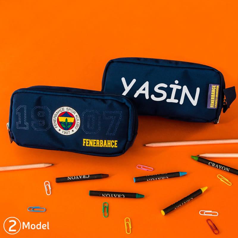 İsme Özel Lisanslı Fenerbahçe Kalem Kutusu