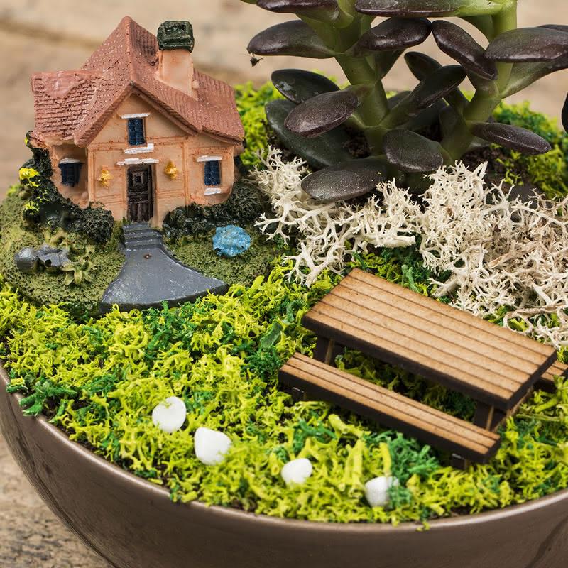 Kişiye Özel Babalar Günü Hediyesi Canlı Bahçe