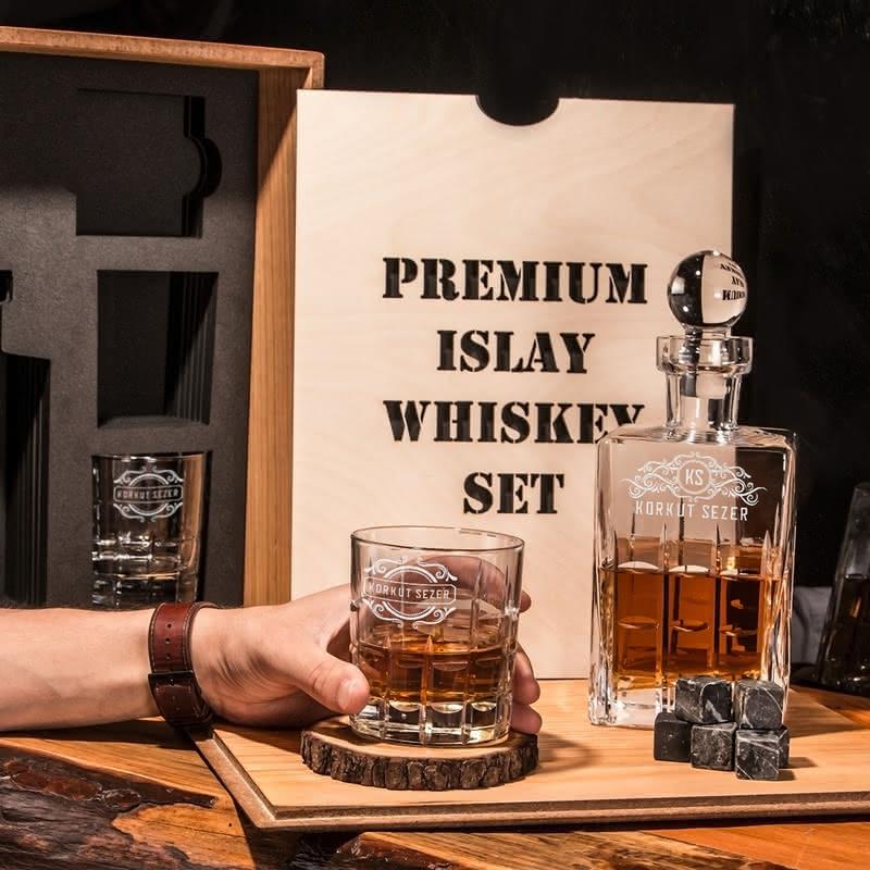 Kişiye Özel Islay Viski Seti