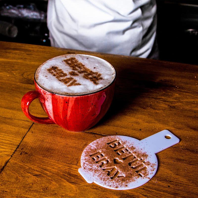Kişiye Özel Kahve Süsleme Seti