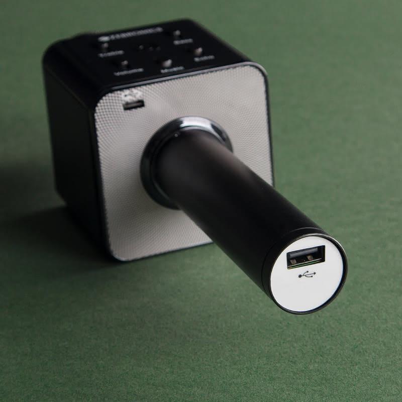 Kişiye Özel Karaoke Mikrofon Ve Bluetooth Hoparlör