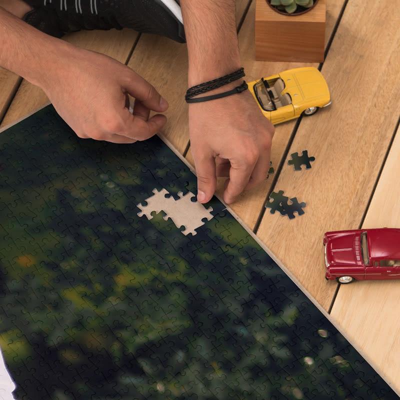 Kişiye Özel Kutulu 1000 Parça Puzzle