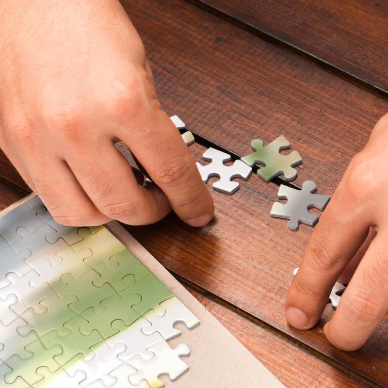 Kişiye Özel Kutulu 500 Parça Puzzle