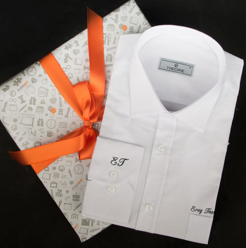 Babalar Günü Hediyesi İsimli Gömlek