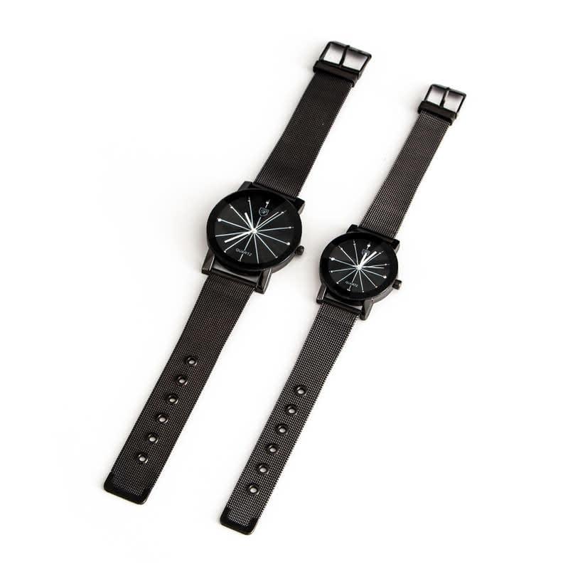 Metal Kordonlu Sevgili Saatleri