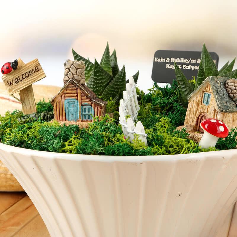 Ömür Boyu Arkadaşız Minyatür Bahçe