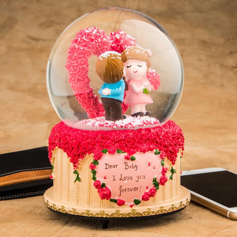 Sevgiliye Doğum Günü Sürprizi Hediye Kar Küresi