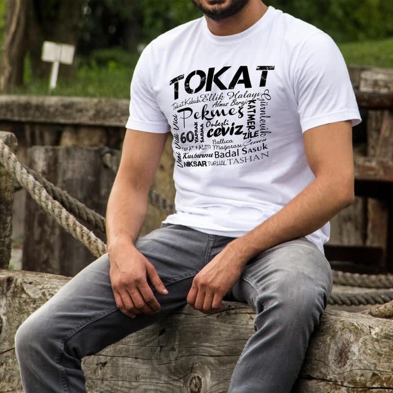 Tokat İli Özel Tasarımlı Baskılı Tişört