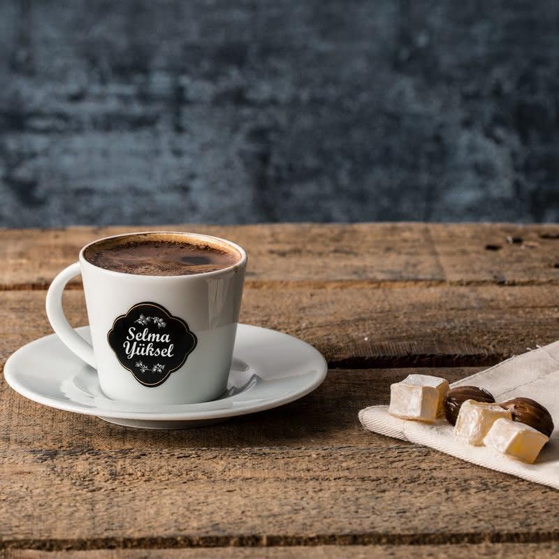 Türk Kahve Fincanı Seti | İsim Yazılı Kahve Fincanı