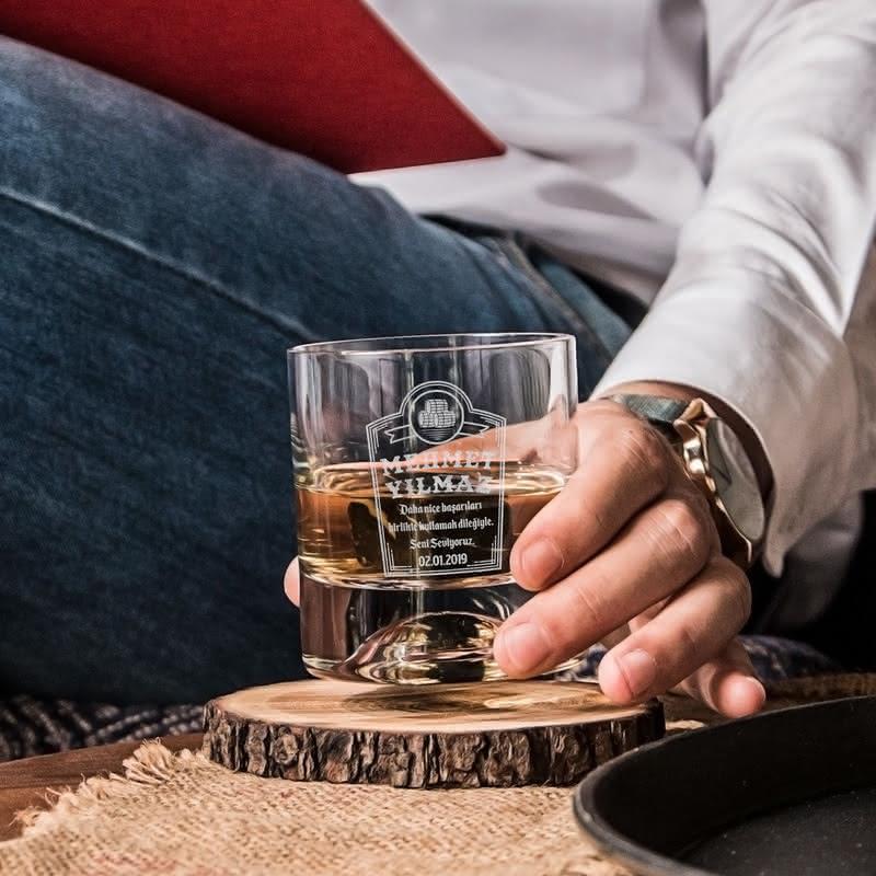 Yeni İş Tebrik Hediyesi Viski Kadeh Seti