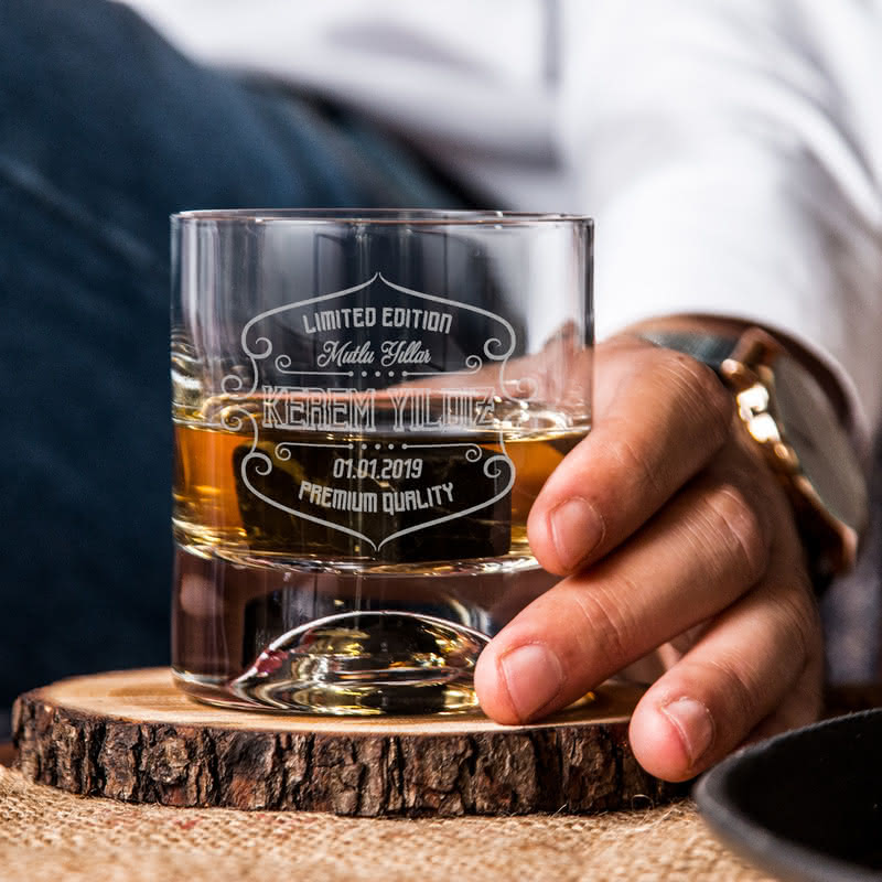 Yeni Yıl Teşekkür Hediyesi Viski Kadeh Seti