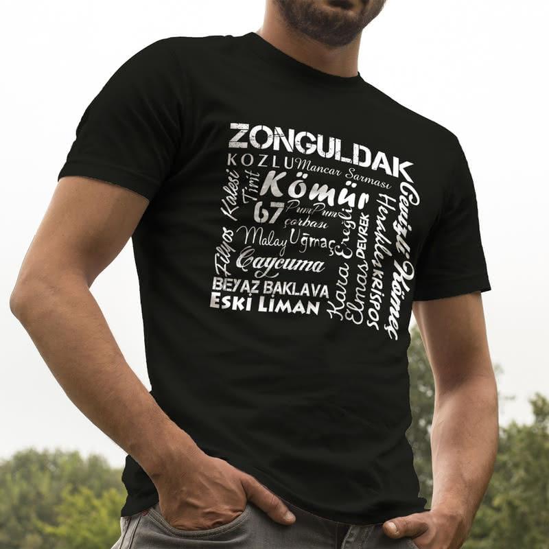 Zonguldaklıya Hediye Özel Baskılı Tişört