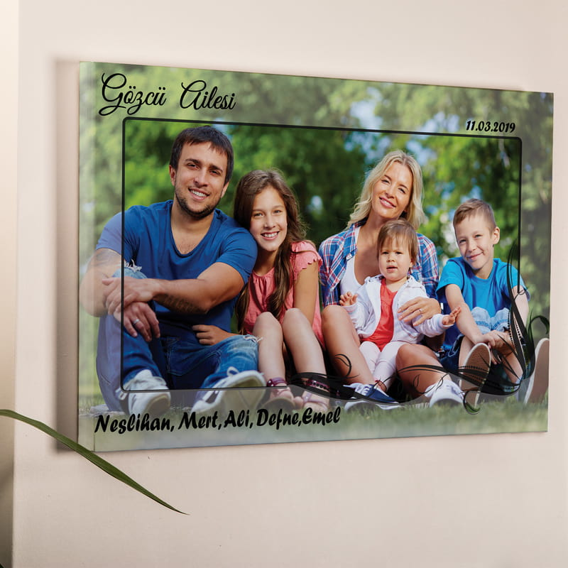 Ailenize Özel Kanvas Tablo 40x60