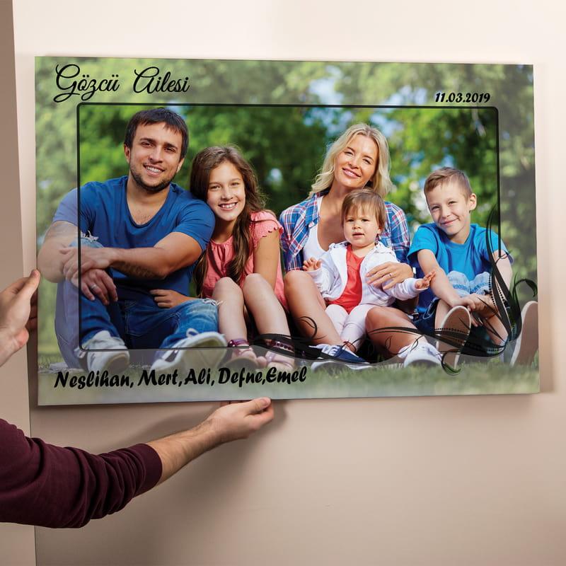 Ailenize Özel Kanvas Tablo 65x95