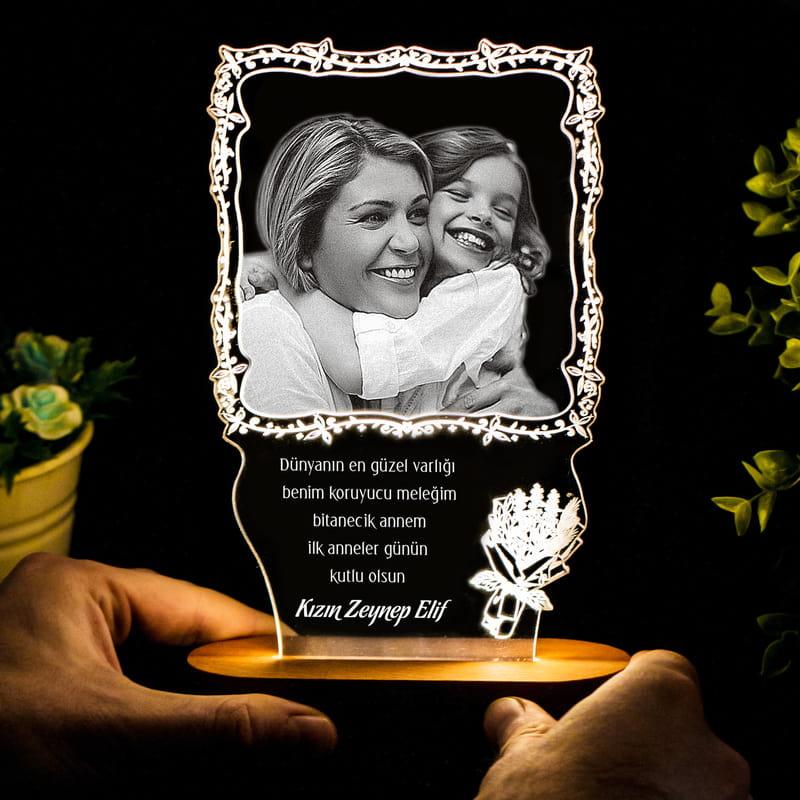 Anneler Günü Hediyesi Led Lamba