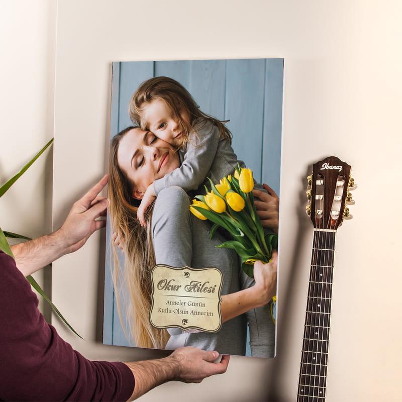 Anneler Günü Hediyesi Kanvas Tablo 40x60