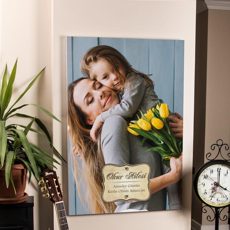 Anneler Günü Hediyesi Kanvas Tablo 65x95