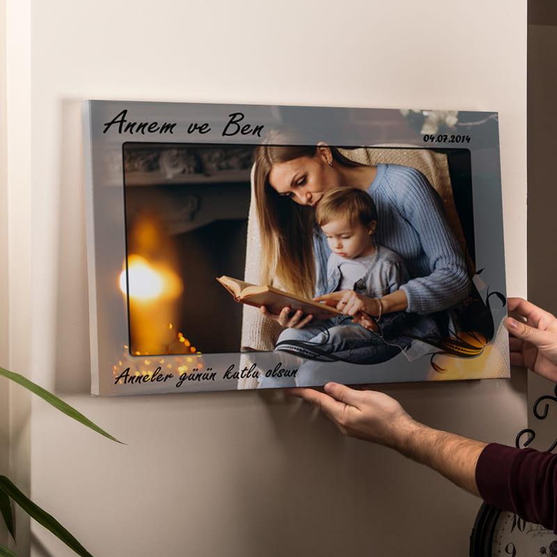 Annem ve Ben Canvas Tablo 40x60