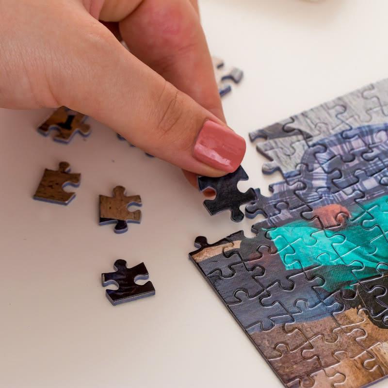 Arkadaşa Doğum Günü Hediyesi Kapsül Şişeli Mini Puzzle