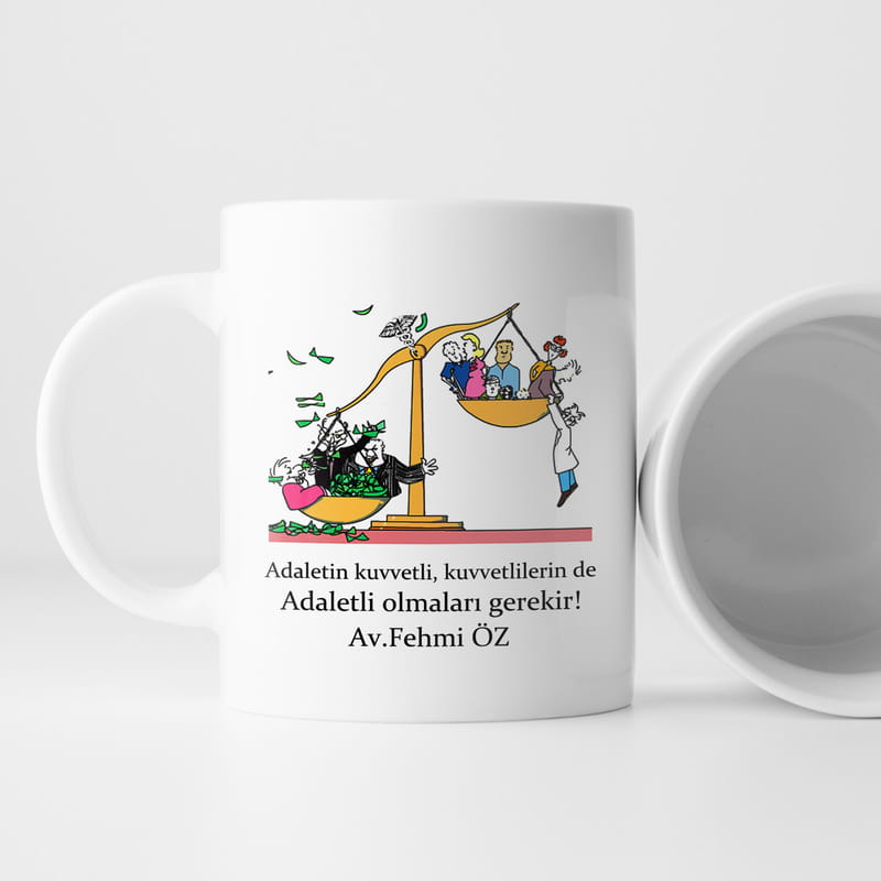 Avukatınıza Özel Kahve Kupası