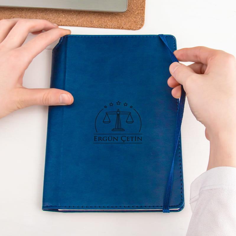 Avukatlara Özel Deri Not Defteri