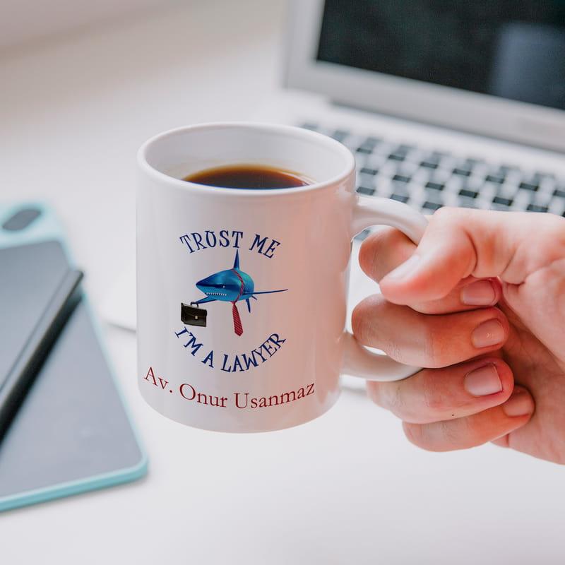 Avukatlara Özel Kahve Kupası