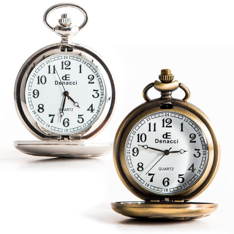 Babalara Özel Not ve Tarih Yazılı Köstekli Saat