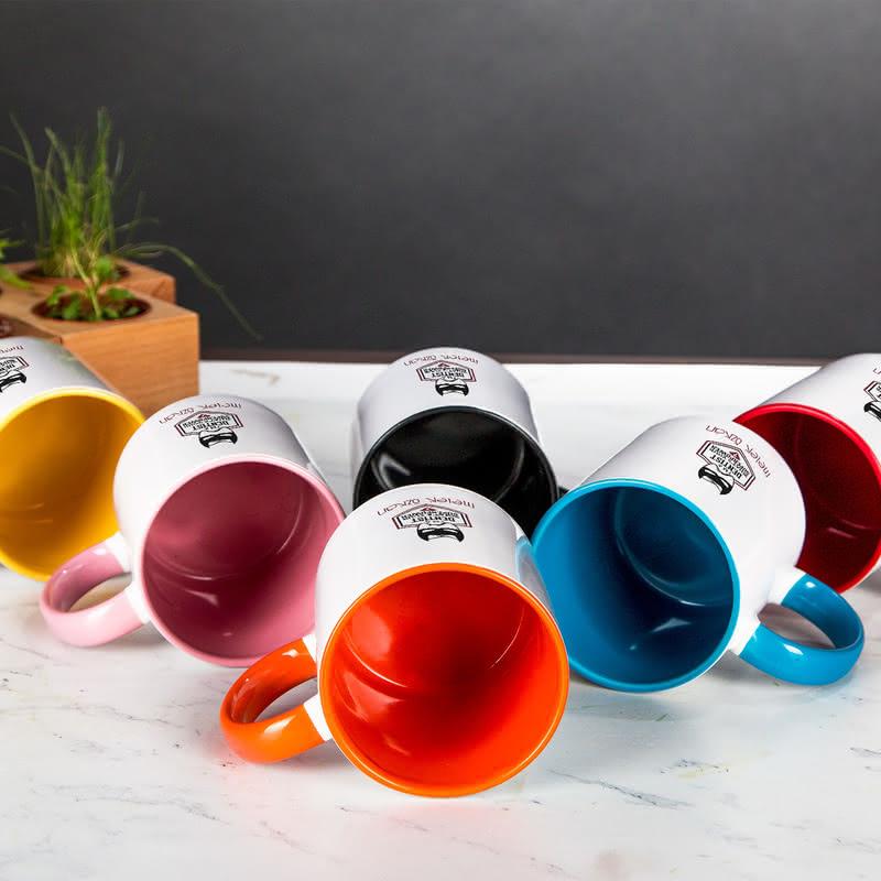 Diş Hekimlerine Hediye Esprili Renkli Kahve Kupası
