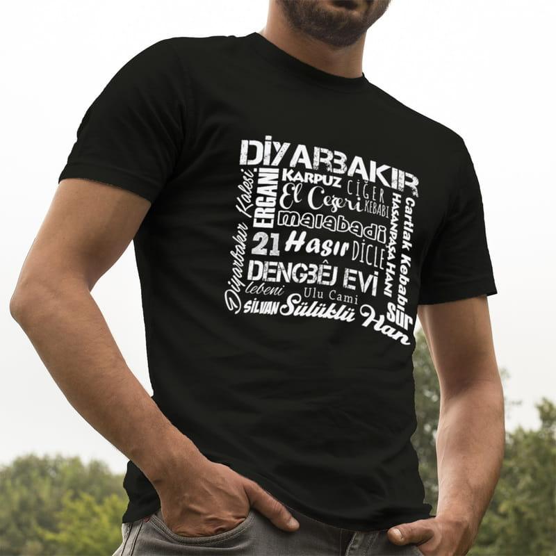 Diyarbakırlıya Hediye Baskılı Tişört