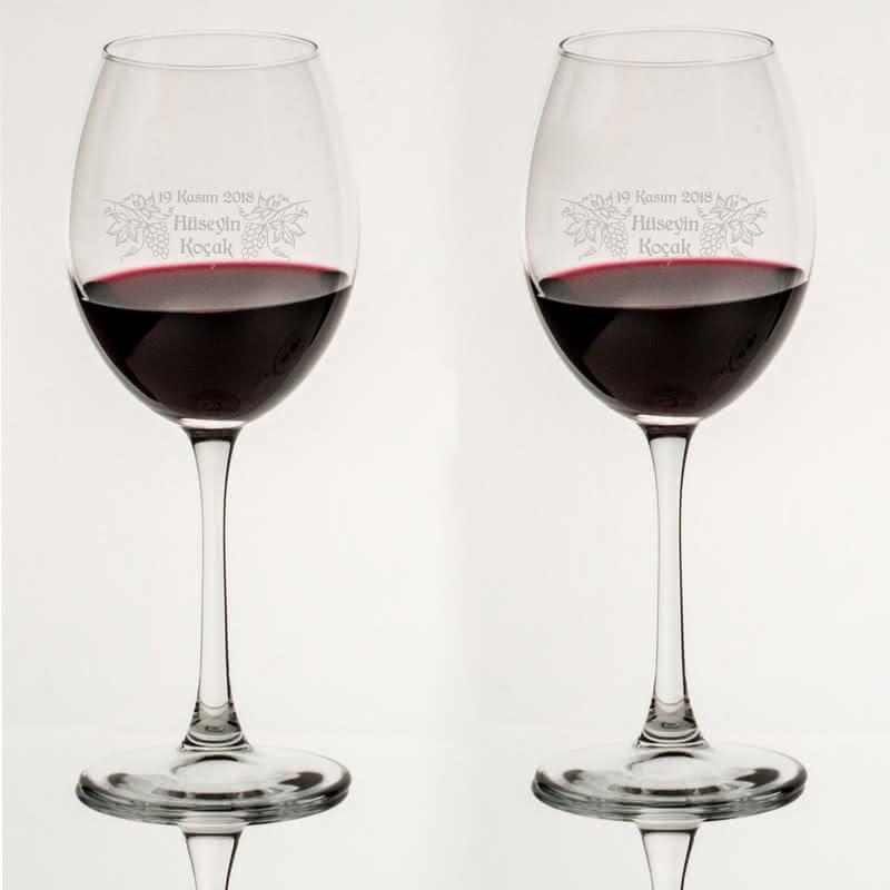 Doğum Günü Hediyesi Toscana Şarap Kadeh Seti