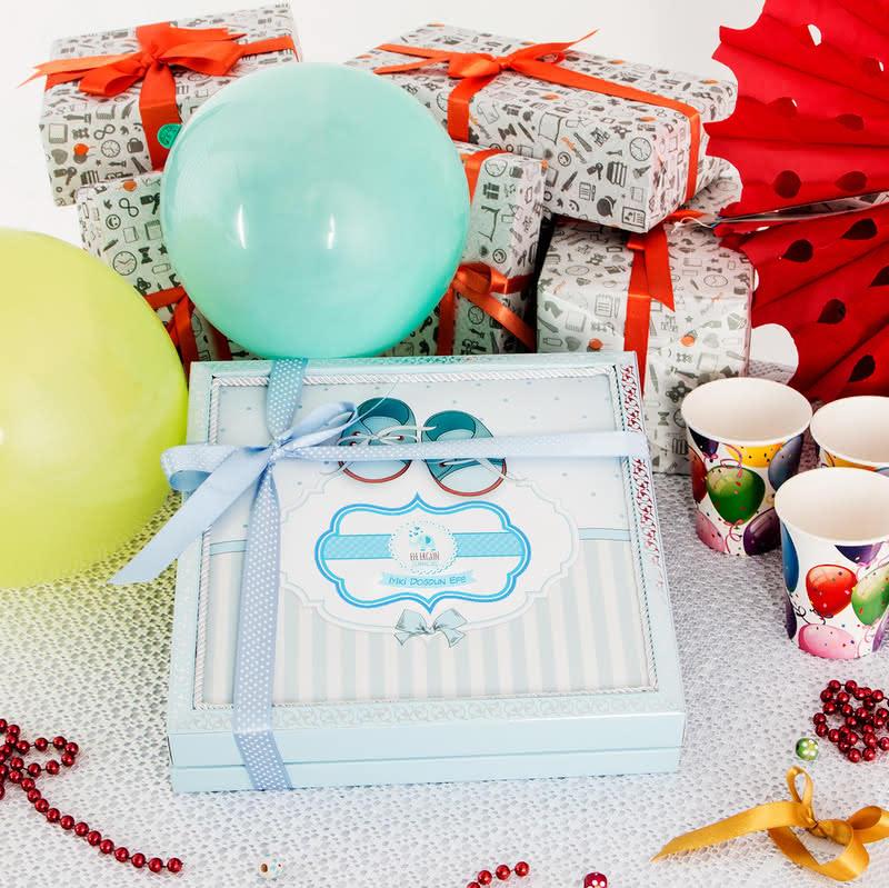 Doğum Gününe Özel Hediyelik İsimli Çikolata Kutusu
