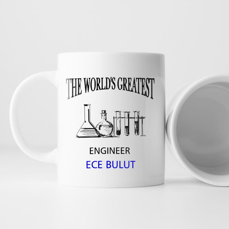 En İyi Kimya Mühendisine Özel Kupa
