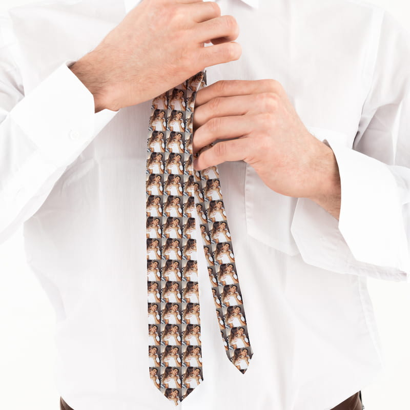 Foto Baskılı Kravat