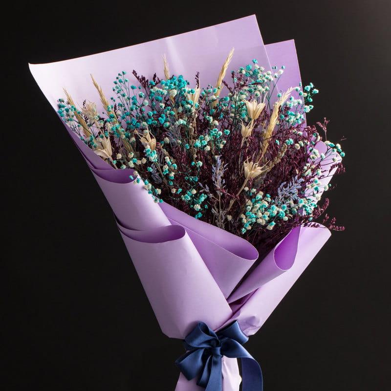 Gerçek Aşkın Rengi Solmayan Buket Çiçek