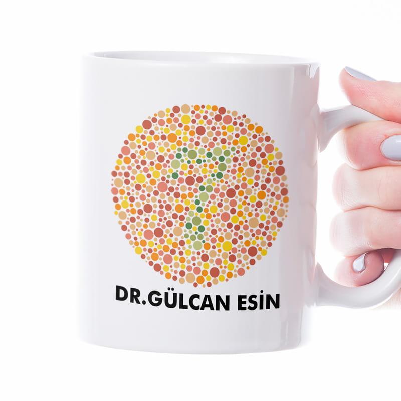 Göz Doktoruna Özel Renk Körlüğü Testli Kupa
