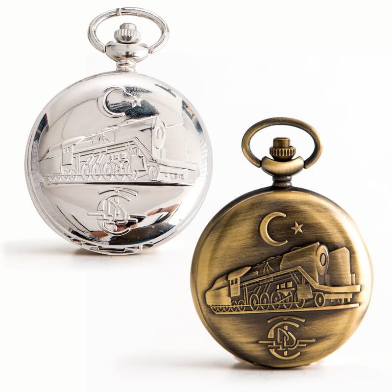 İsme Özel Atatürk İmzalı Hediye Köstekli Saat