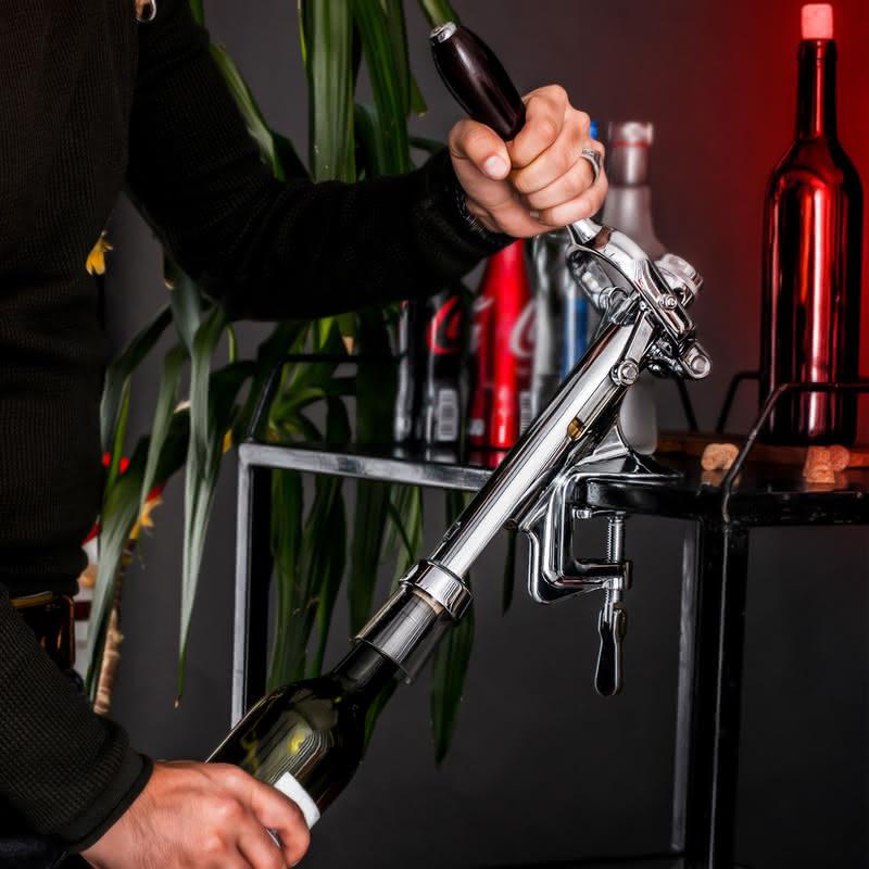 Kişiye Özel Bar Tipi Tirbuşon Şarap Açacağı