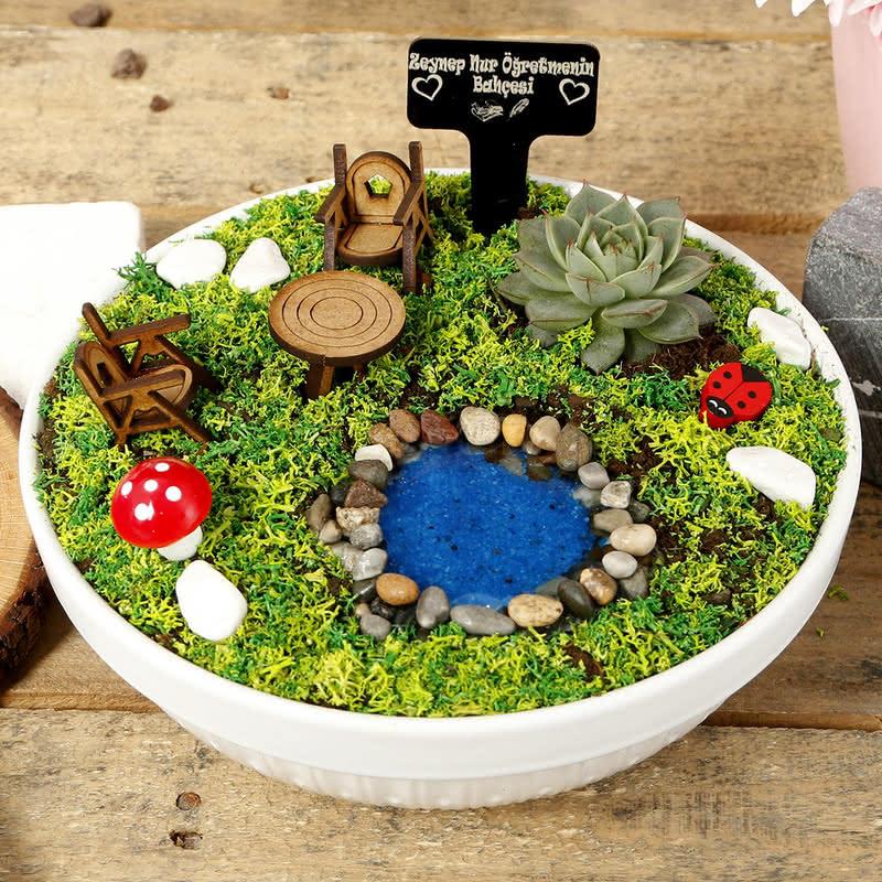 Kişiye Özel Öğretmenimin Bahçesi