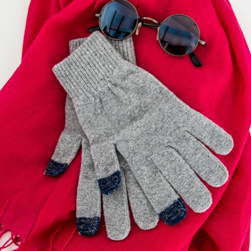 Kışlık Dokunmatik Ekran Eldiveni