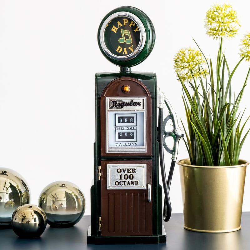 Klasik Benzin Pompası Müzik Kutusu