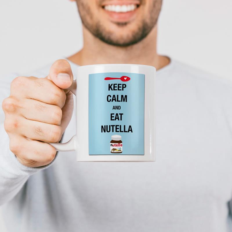 Nutella Aşıklarına Hediyelik Porselen Kupa