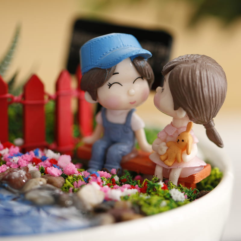 Romantik Çiftlere Özel Minyatür Aşk Bahçesi