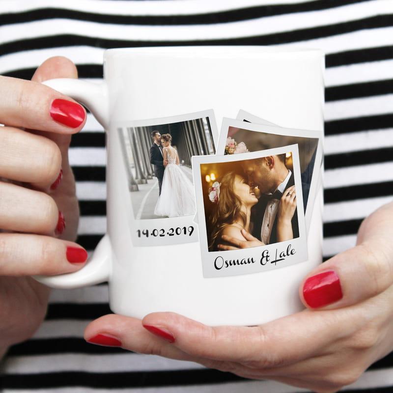 Sevgililer Gününe Özel Fotoğraflı Kupa