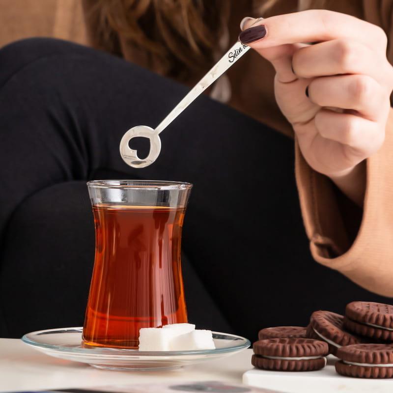 Sevgililere Özel İkili Çay Kaşığı Seti