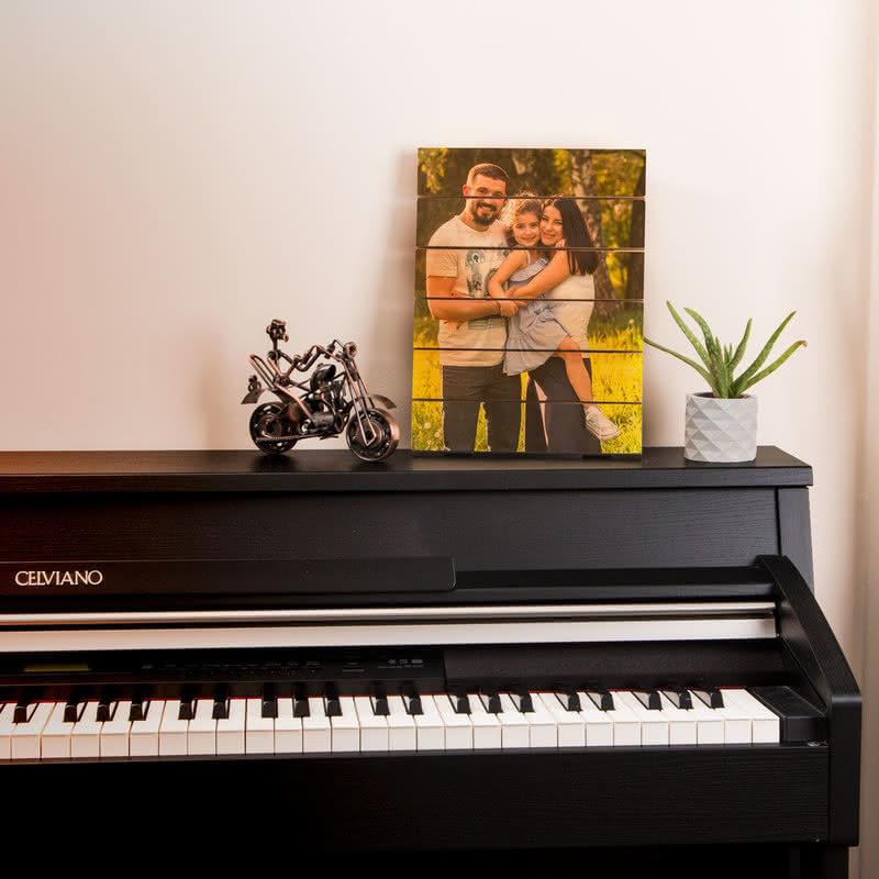 Sevgiliye Hediye Fotoğraf Baskılı Ahşap Palet Tablo
