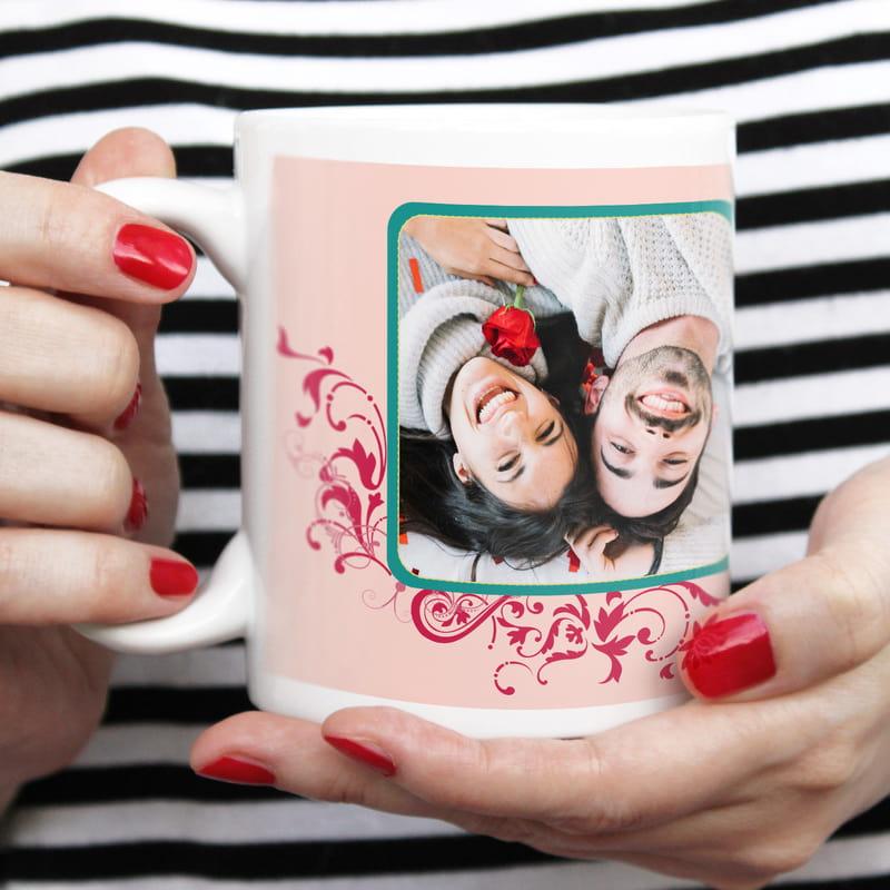 Sevgiliye Hediye Mesajlı Kahve Kupası